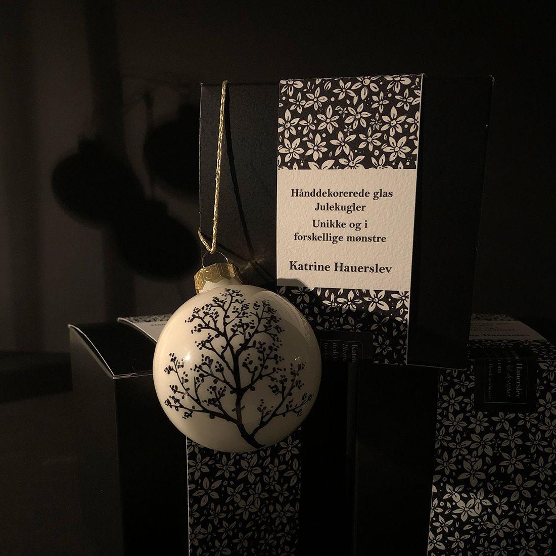 Julekugler i glas | KatrineHauerslev.Dk